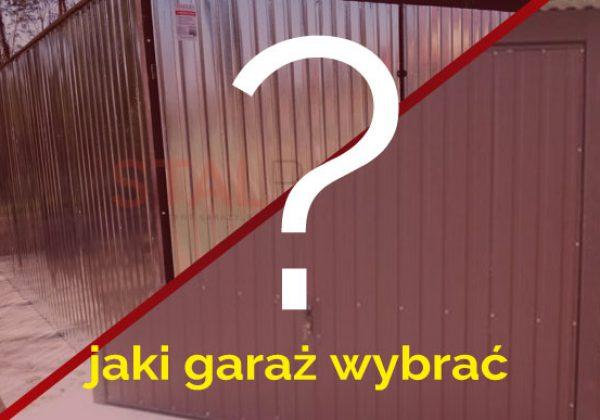 Jaki garaż? STALBLACH!